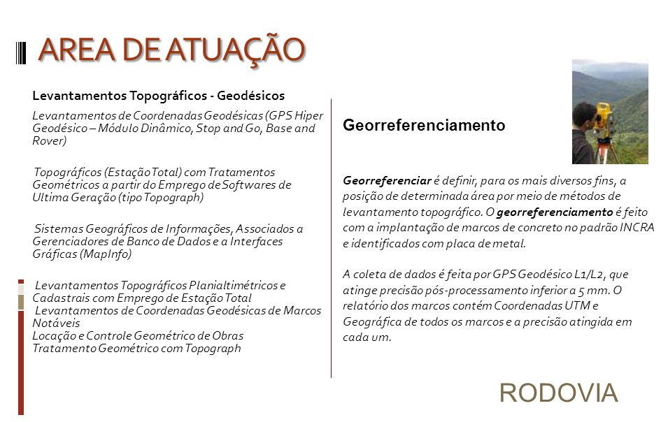 Elaboração do Projeto Executivo para Pavimentação Asfáltica da BR-080.