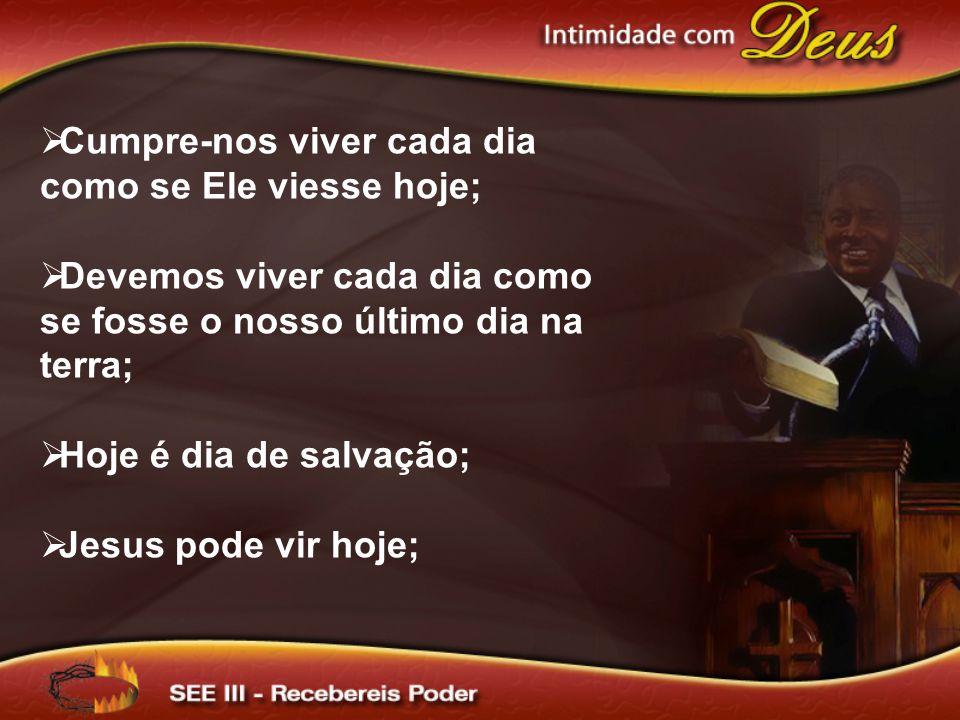 O Seminário de Enriquecimento Espiritual IV terá como título: Minha Vida na Presença de Cristo.