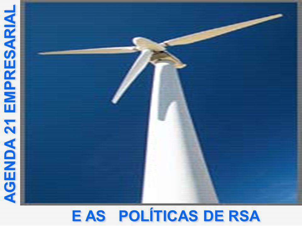 AGENDA 21 EMPRESARIAL POLÍTICAS DE RSA E AS