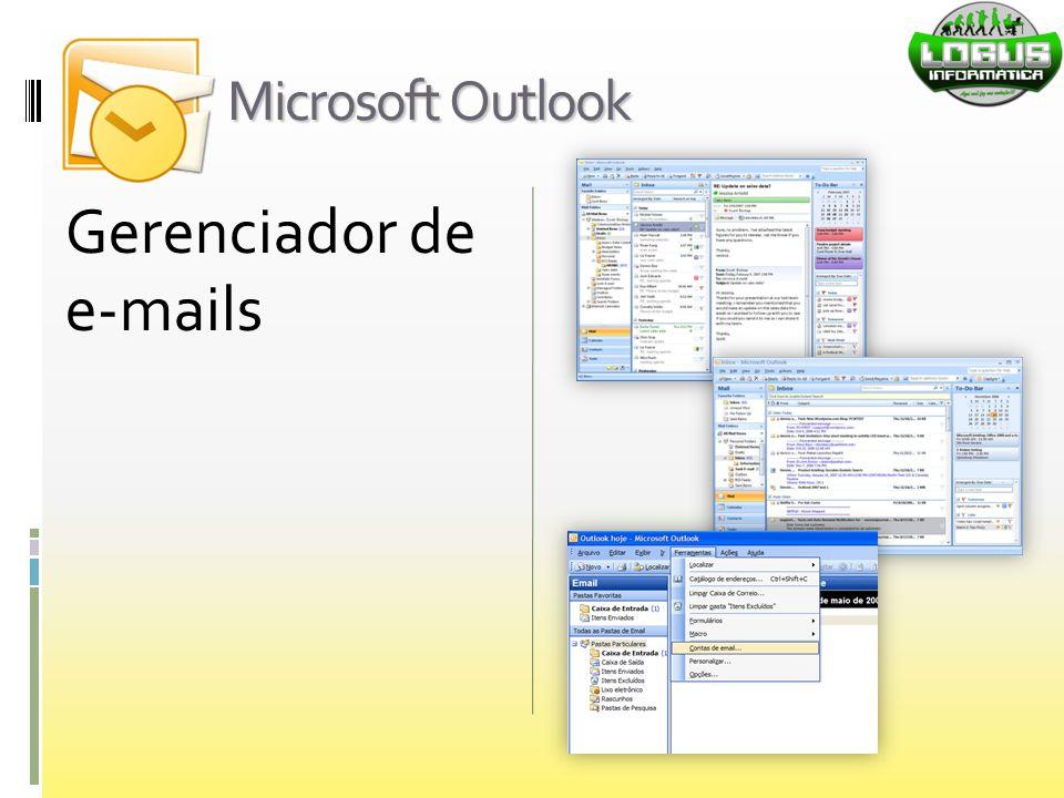 Microsoft Outlook Gerenciador de e-mails