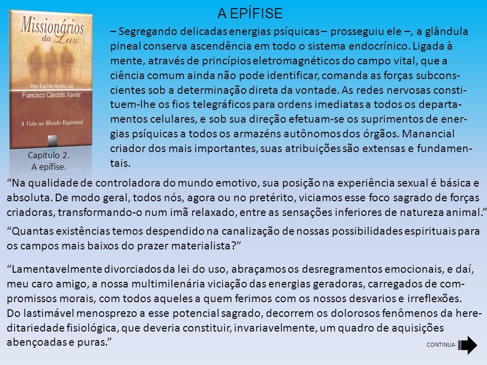 Capítulo 2.A epífise.