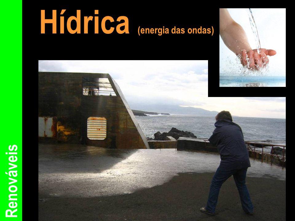 Renováveis Hídrica (energia das ondas)