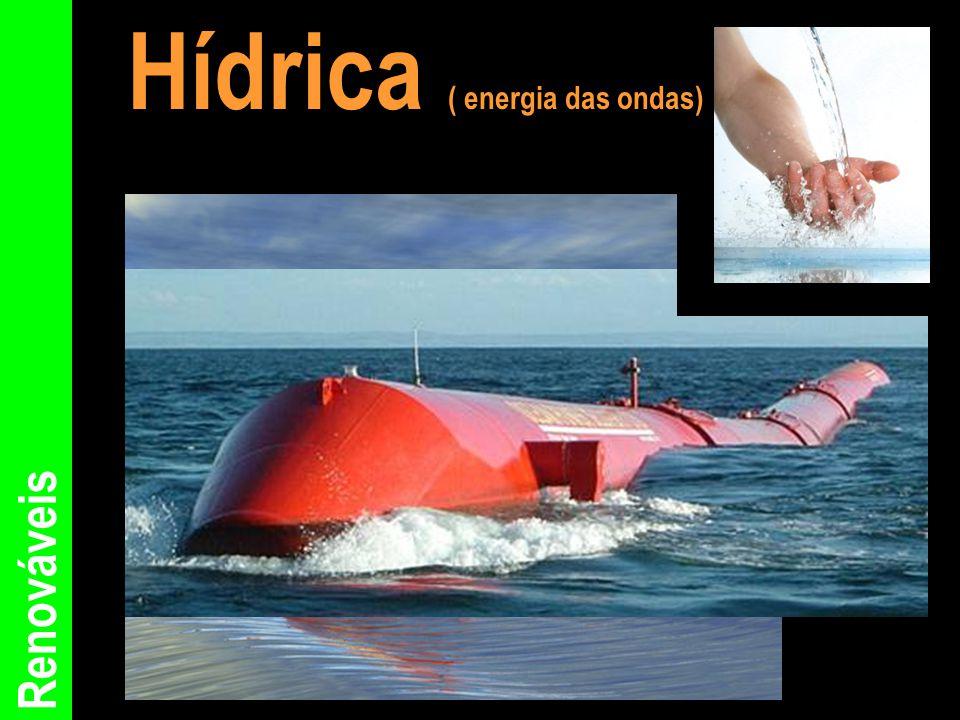 Renováveis Hídrica ( energia das ondas)