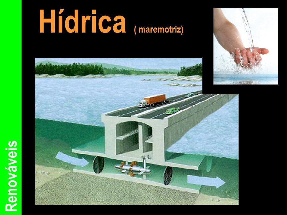 Renováveis Hídrica ( maremotriz)
