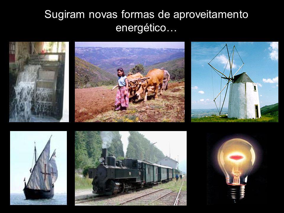 Sugiram novas formas de aproveitamento energético…