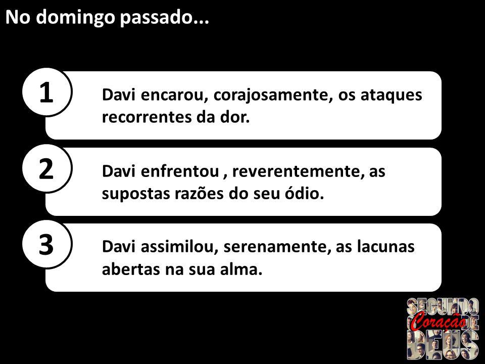 A ASCENSÃO DE DAVI...