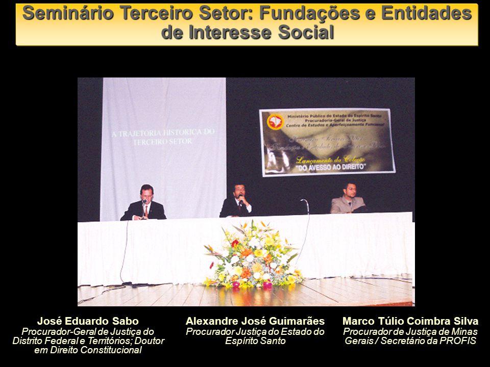 José Eduardo Sabo Procurador-Geral de Justiça do Distrito Federal e Territórios; Doutor em Direito Constitucional Alexandre José Guimarães Procurador