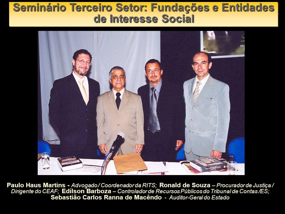 Sebastião Pimentel Franco Diretor Presidente da FUNDAES