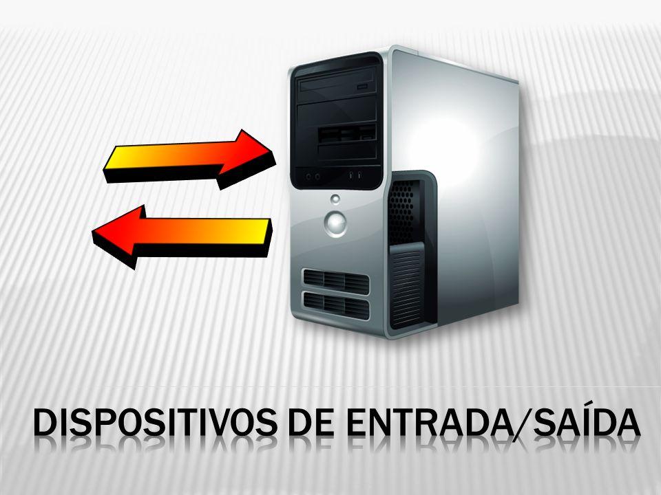  Funcionam como dispositivos de saída (output) e de entrada (output)  Permite ao utilizador:  Receber dados provenientes do sistema  Enviar dados para o sistema