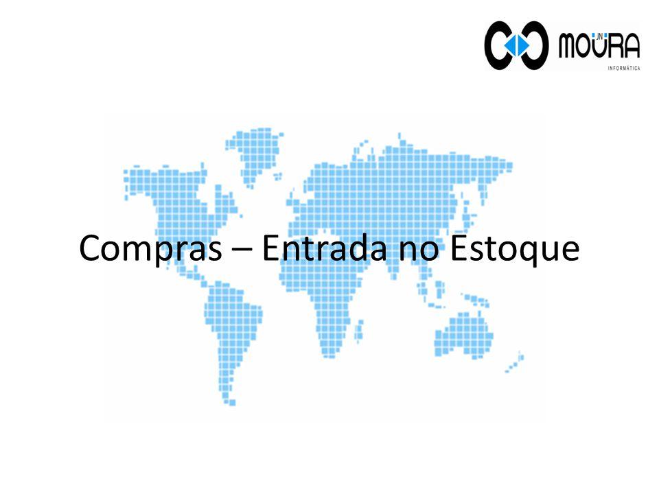 Campos Opcionais: No campo Documento pode-se digitar um código interno da empresa para identificar a movimentação de entrada.