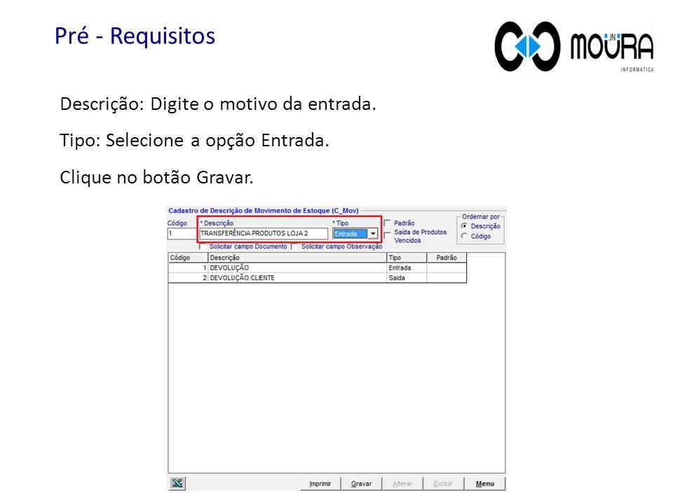No menu de aplicativos clique no módulo Compras. Entrada no Estoque