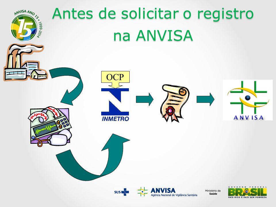 Antes de solicitar o registro na ANVISA OCP