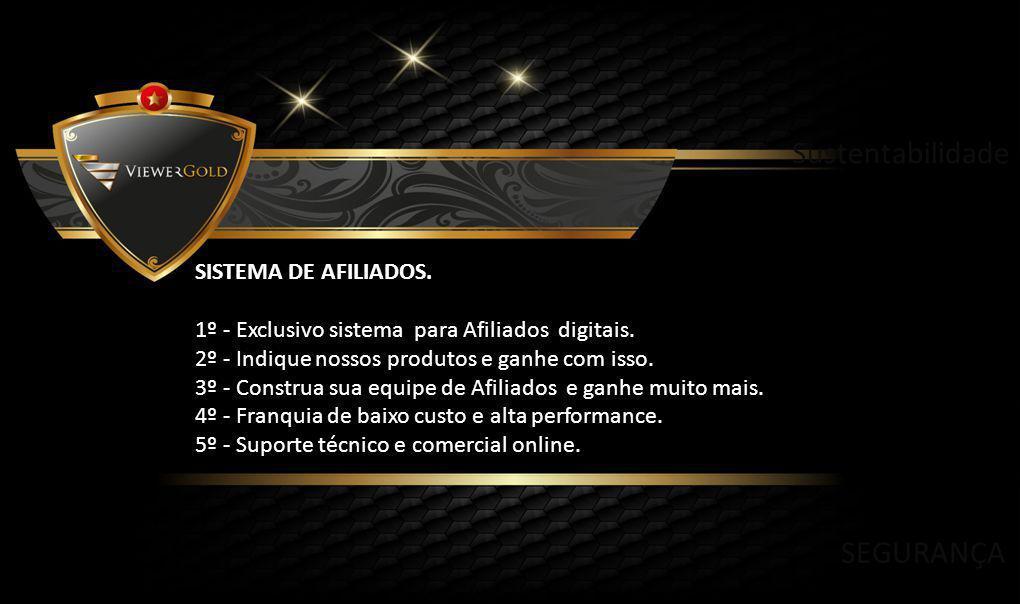 SISTEMA DE AFILIADOS. 1º - Exclusivo sistema para Afiliados digitais.