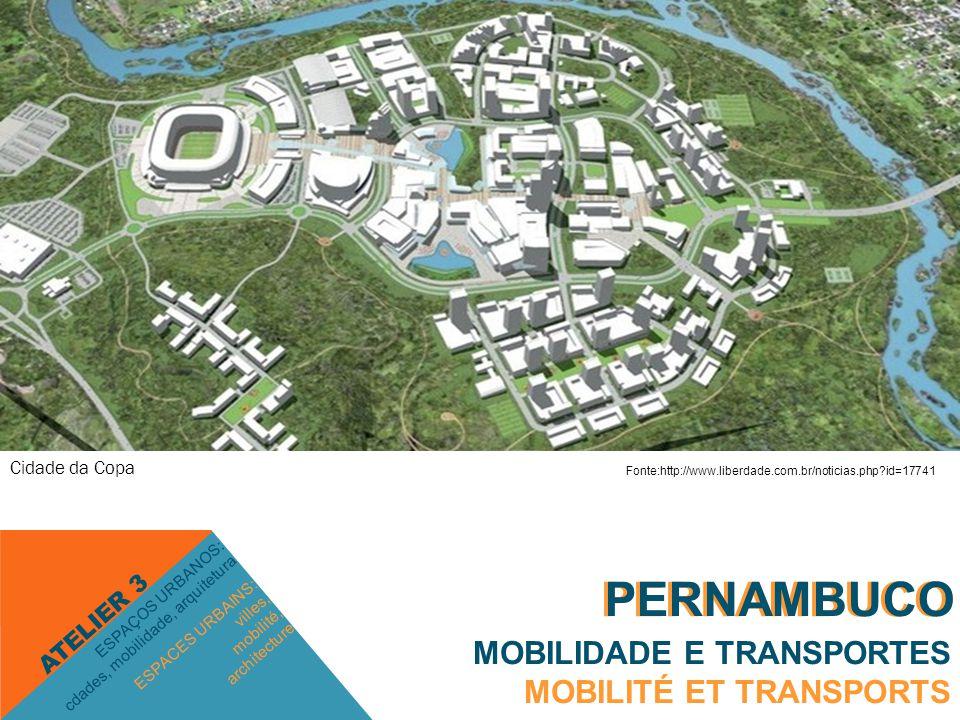 PERNAMBUCO MOBILIDADE E TRANSPORTES MOBILITÉ ET TRANSPORTS ESPACES URBAINS: villes, mobilité, architecture ESPAÇOS URBANOS: cdades, mobilidade, arquitetura ATELIER 3 PERNAMBUCO Polo Industrial Sul   PORTO DE SUAPE Fonte: http://envolverde.com.br/ambiente/entrevistas-ambiente/suape-um-desafio-para-pernambuco/ Fonte:http://pedesenvolvimento.com/2010/12/13/suape-tem-recorde-de-investimentos/ Fonte:http://jconline.ne10.uol.com.br/canal/economia/nacional/noticia/2012/04/13/transpet ro-abre-selecao-para-145-vagas-ha-oportunidades-para-pernambuco-38999.php