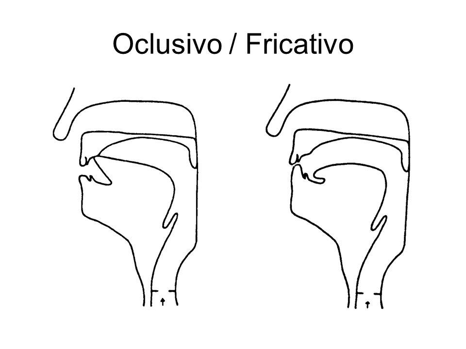 Oclusivo / Fricativo