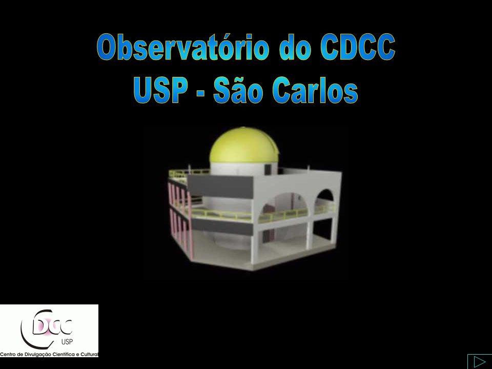 A bertura do Setor de Astronomia - CDCC Observatório do CDCC - USP/SC