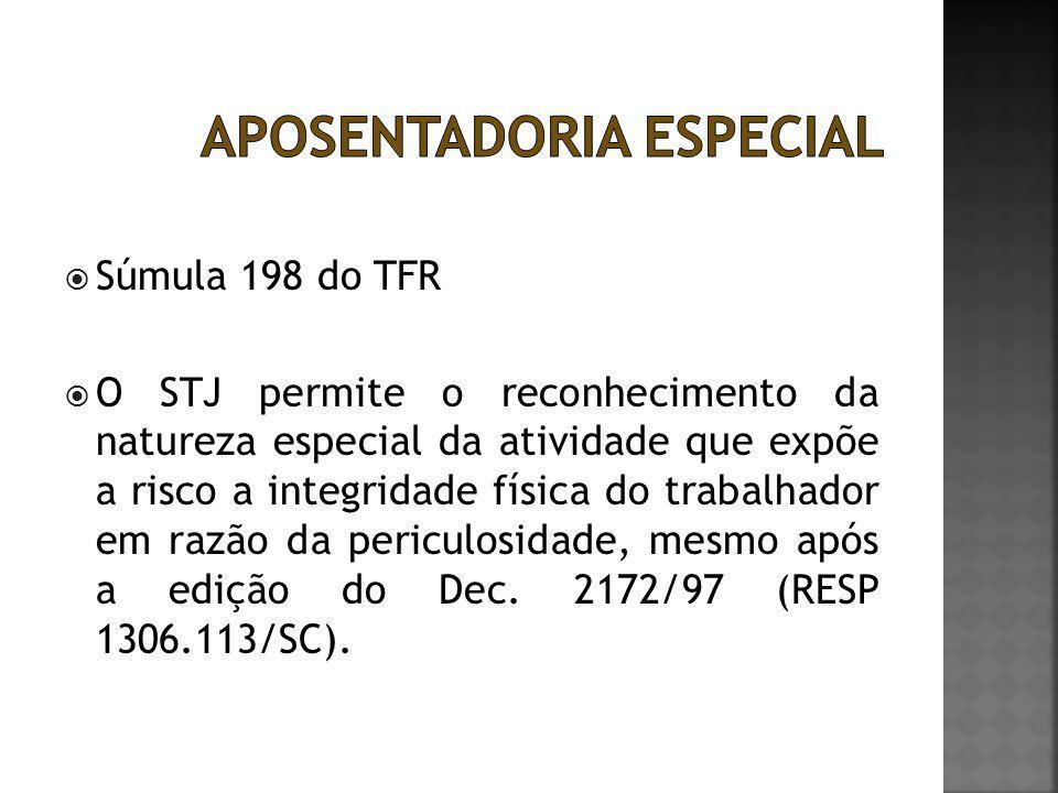  Aspectos relevantes:  O STF não concede nem nega a aposentadoria especial, o pleito deve ser analisado pela autoridade administrativa competente a quem compete a verificação do preenchimentos dos requisitos legais da aposentadoria especial (MI 1286)