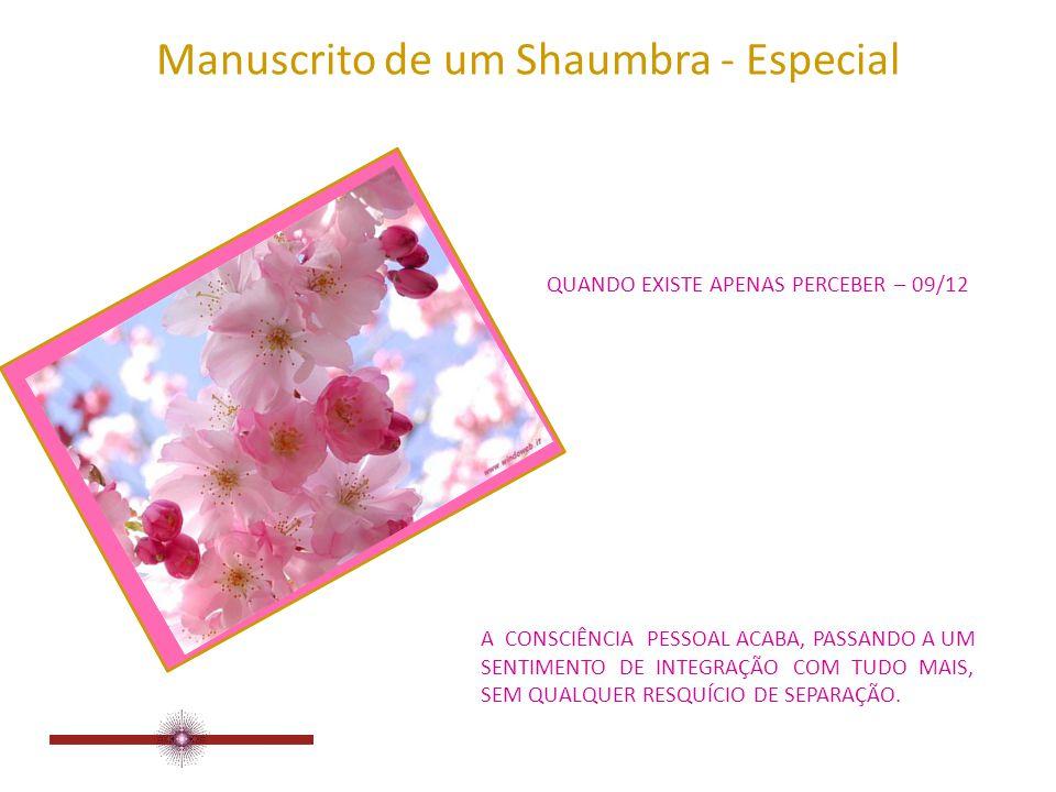 Manuscrito de um Shaumbra - Especial QUANDO EXISTE APENAS PERCEBER – 08/12 O DEUS VERDADEIRO, INDIZÍVEL, TORNAR-SE-Á CONHECIDO, MAIS E MAIS, INDEFINIDAMENTE.