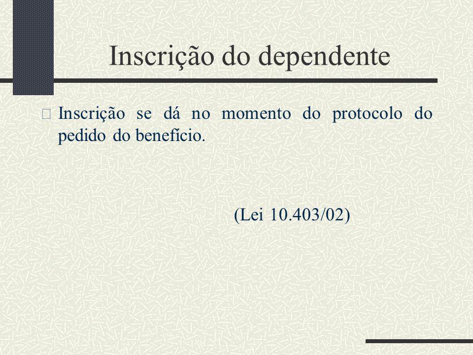 """23 """"Dependentes são beneficiários, ditos indiretos, relacionados com o segurado por dependência econômica, vínculo mais abrangente que aquele resultan"""