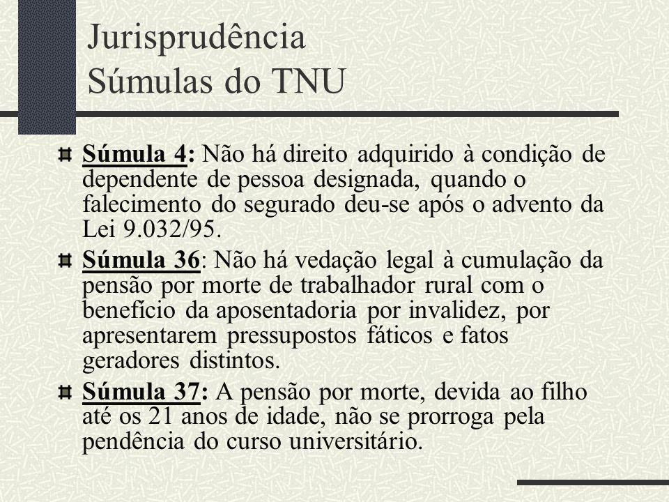 CUMULATIVIDADE Regra prevista no art. 124 da Lei nº 8.213/1991, detalhada pelo art. 167 do Dec. 3.048/1999. Não há cumulatividade de nova pensão do RG