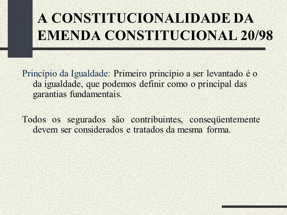 ANÁLISE DA BAIXA RENDA O auxílio-reclusão teve previsão Constitucional somente em 1988, no seu art. 201, I, não limitando o recebimento, logo, todo se