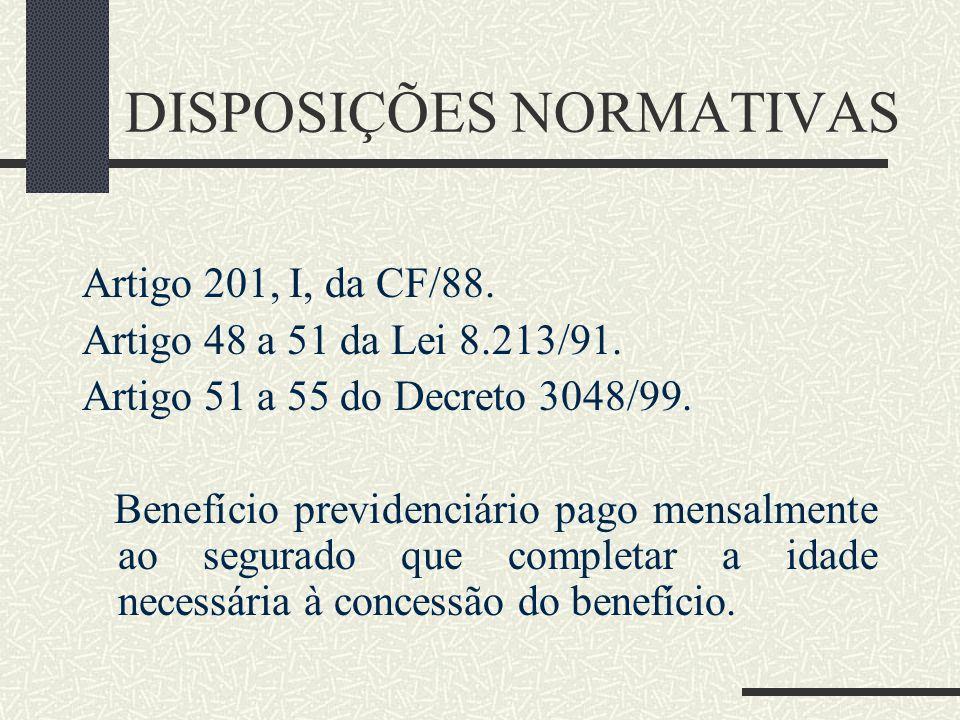 Aposentadoria por Idade Profª. Luciana Moraes de Farias lucianamfarias@hotmail.com 10.04.2010