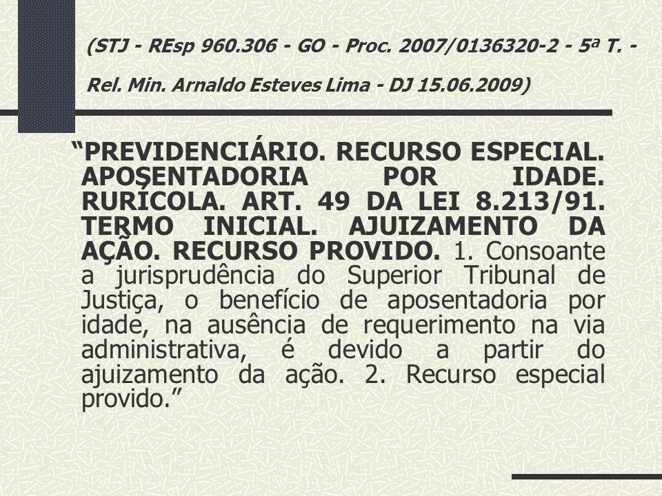 """(TRF3ª R. - AC 2006.60.03.000529-3 - MS - 10ª T. - Relª Desembª Fed. Diva Malerbi - DJ 20.05.2009) """"PREVIDENCIÁRIO. APOSENTADORIA POR IDADE. TRABALHAD"""