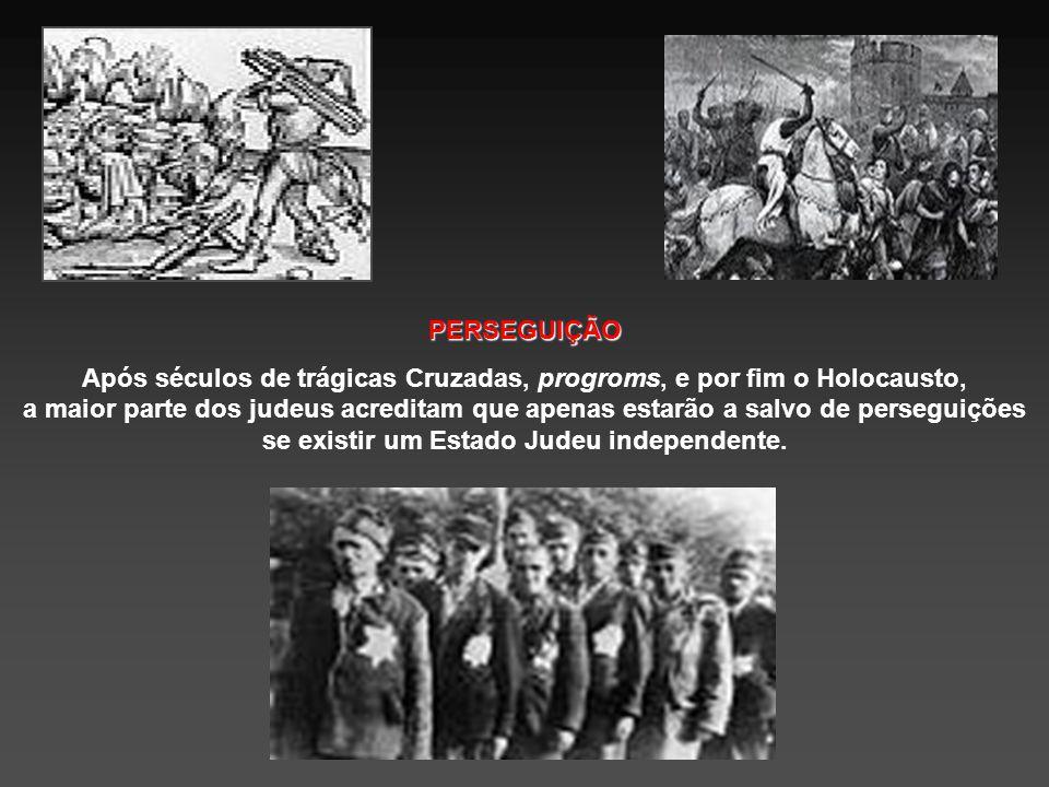 """RELIGIÃO A cada ano, desde a destruição romana, os judeus tem orado para retornar a essa terra. """"No próximo ano em Jerusalém"""" é a frase com que termin"""