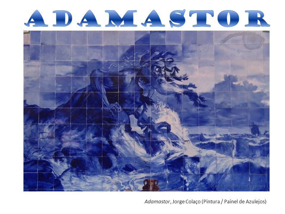 Adamastor, Jorge Colaço (Pintura / Painel de Azulejos)
