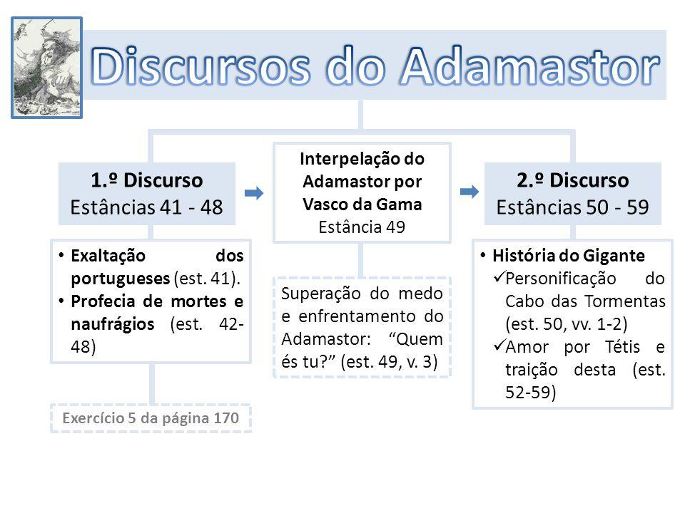 Desaparecimento súbito do Gigante Adamastor (est.60, v.