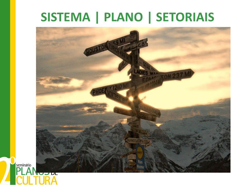 SISTEMA | PLANO | SETORIAIS