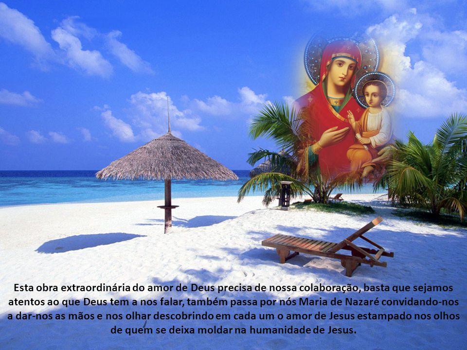 Nossa Senhora era nesta terra uma mãe de família pobre, humilde e orante. Foi no seio de Maria que hoje poderíamos chamar Maria da Silva, do Carmo, et