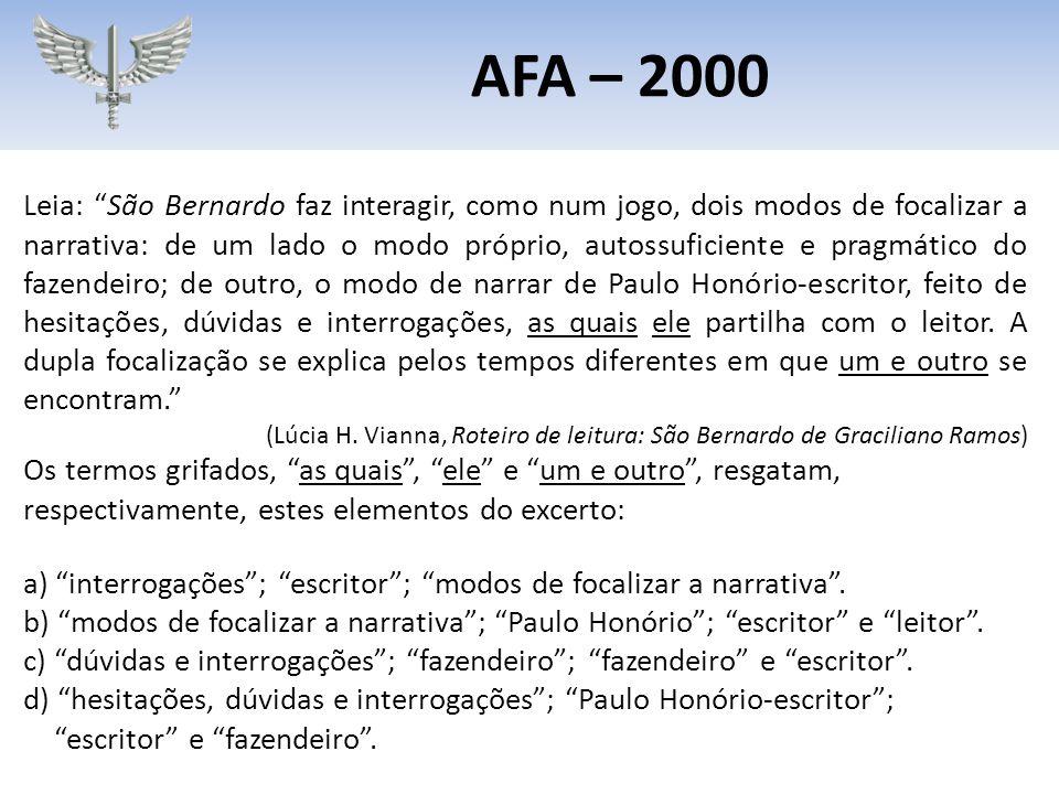 """Leia: """"São Bernardo faz interagir, como num jogo, dois modos de focalizar a narrativa: de um lado o modo próprio, autossuficiente e pragmático do faze"""