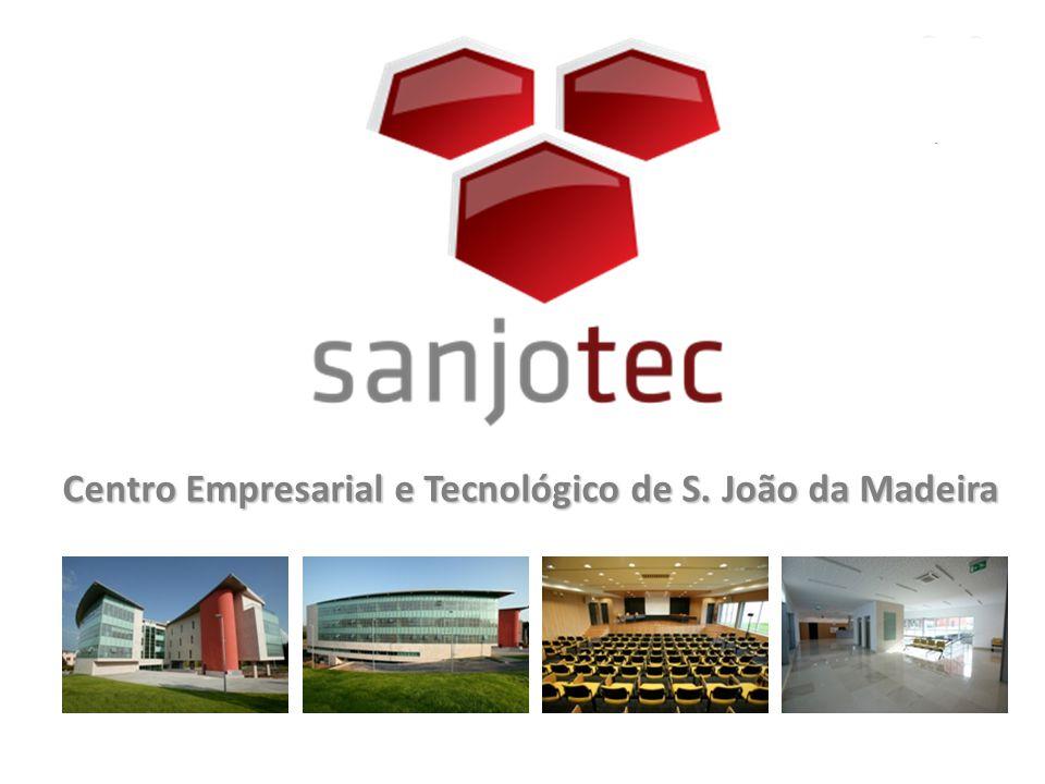 Apoio à criação de Empresas de Base Tecnológica Missão A SANJOTEC é um Parque de Ciência e Tecnologia que visa contribuir para a promoção e o aumento da produtividade e competitividade do Concelho e da Região Difusão de uma cultura de Empreendedorismo e Inovação Apoio ao desenvolvimento e modernização das empresas existentes Implementação e captação de projectos empresariais inovadores Agente facilitador na aproximação entre o Tecido Empresarial e o SCTN A SANJOTEC é um PCT reconhecido pela TECPARQUES – Associação Portuguesa de Parques de Ciência e Tecnologia