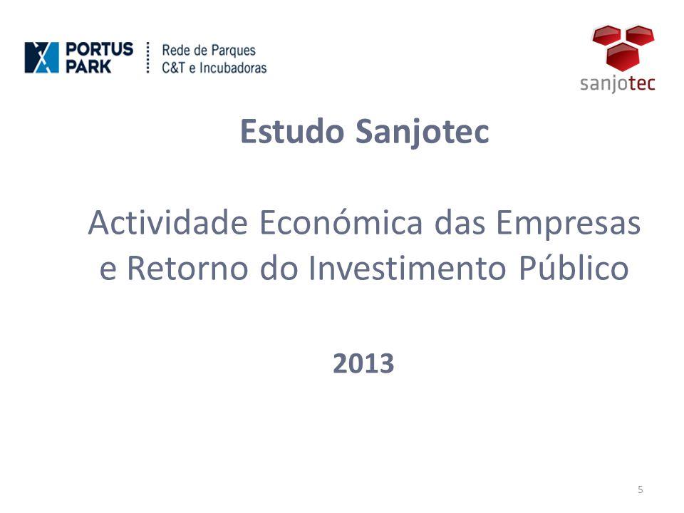 Estudo Sanjotec Actividade Económica das Empresas e Retorno do Investimento Público 2013 5