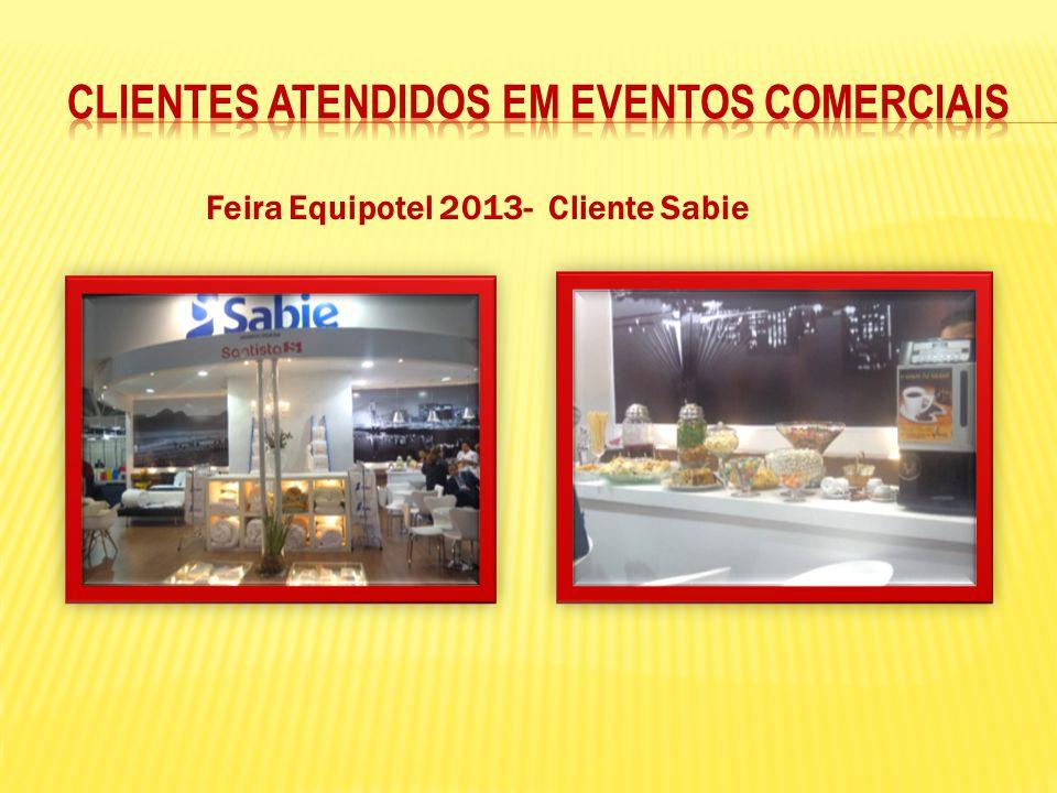 Feira Equipotel 2013- Cliente Sabie