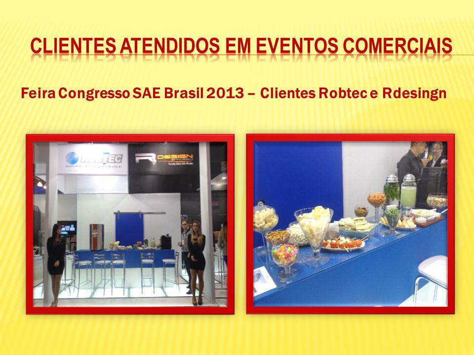 Feira Congresso SAE Brasil 2013 – Clientes Robtec e Rdesingn