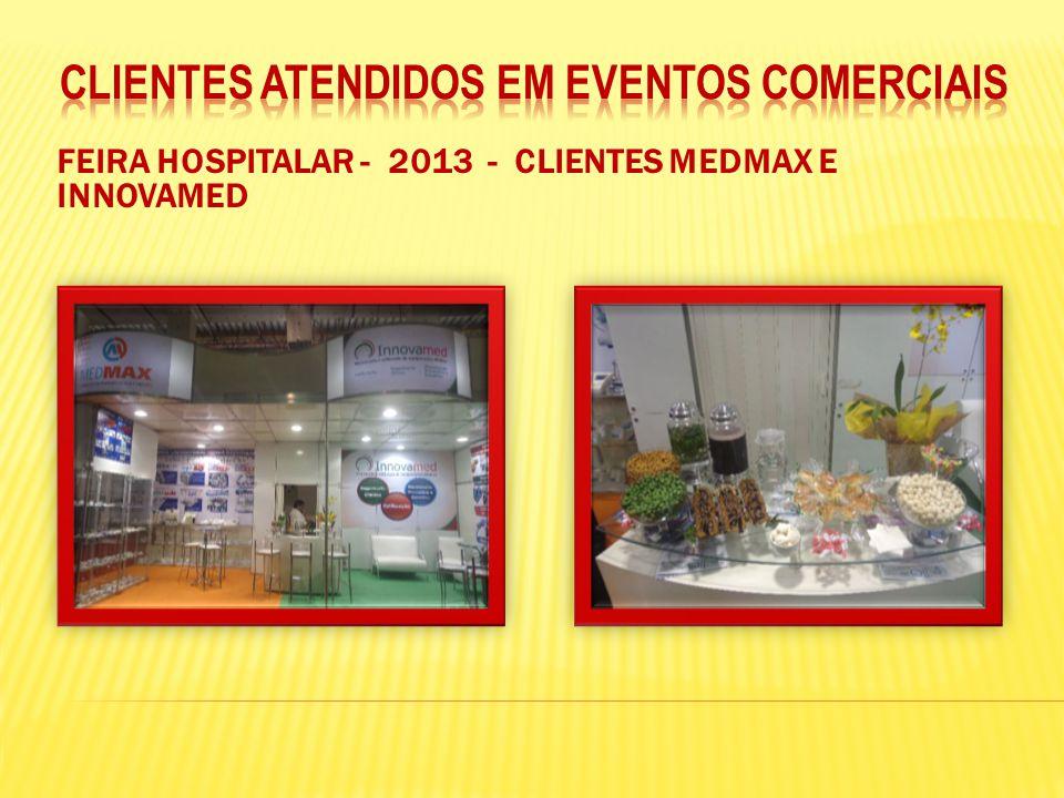FEIRA HOSPITALAR - 2013 - CLIENTES MEDMAX E INNOVAMED