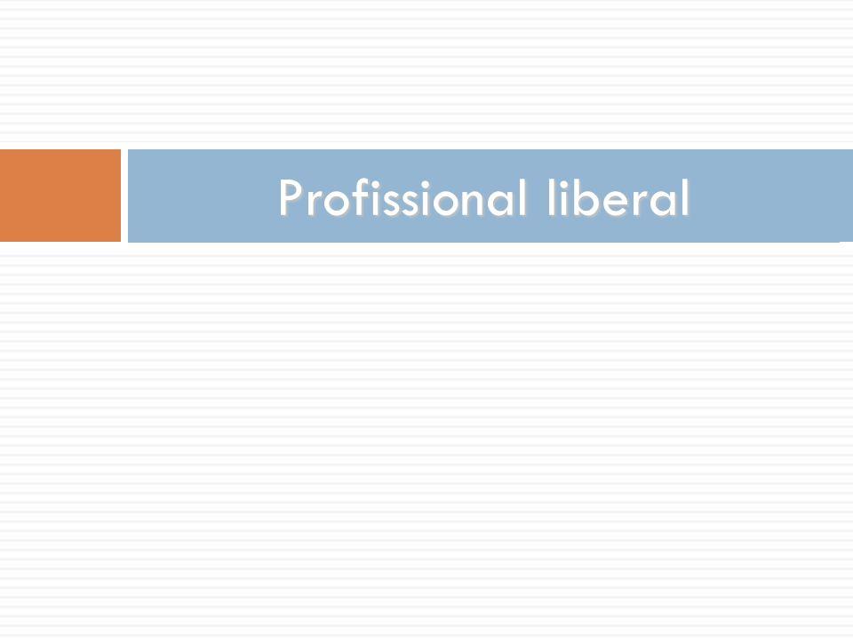 Profissional liberal
