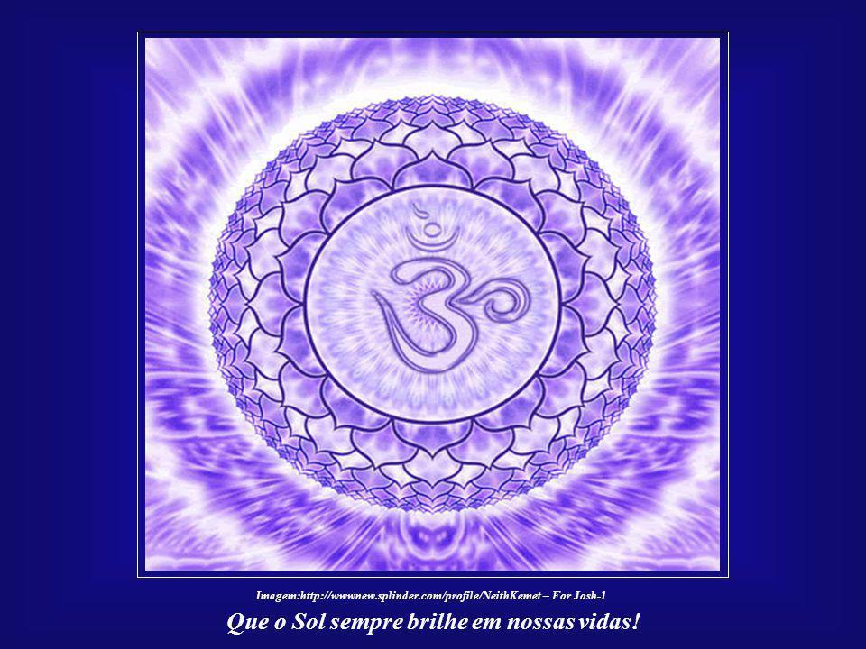 ☼ O Futuro da Humanidade e a Civilização Solar Que o Sol sempre brilhe em nossas vidas! Assim, medite quanto a termos uma marca cósmica em nossa const