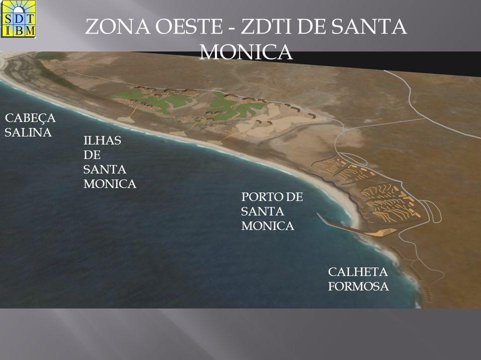 CABEÇA SALINA ILHAS DE SANTA MONICA PORTO DE SANTA MONICA CALHETA FORMOSA ZONA OESTE - ZDTI DE SANTA MONICA
