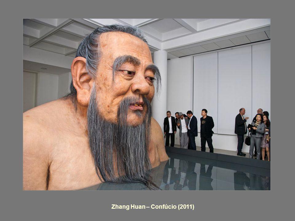 Zhang Huan – Confúcio (2011)