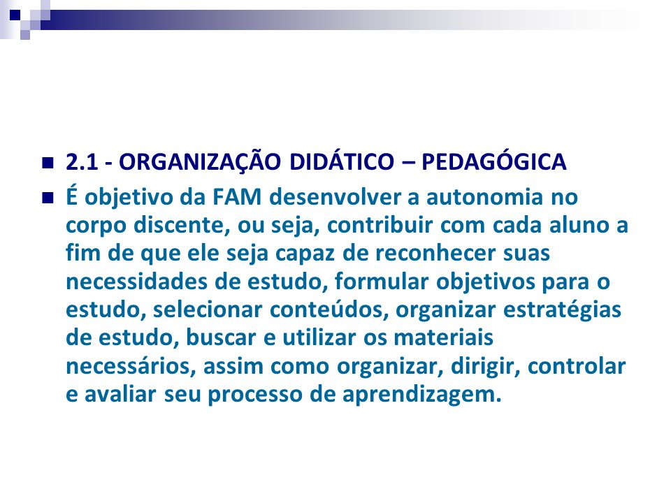 Características das sessões e procedimento utilizados.