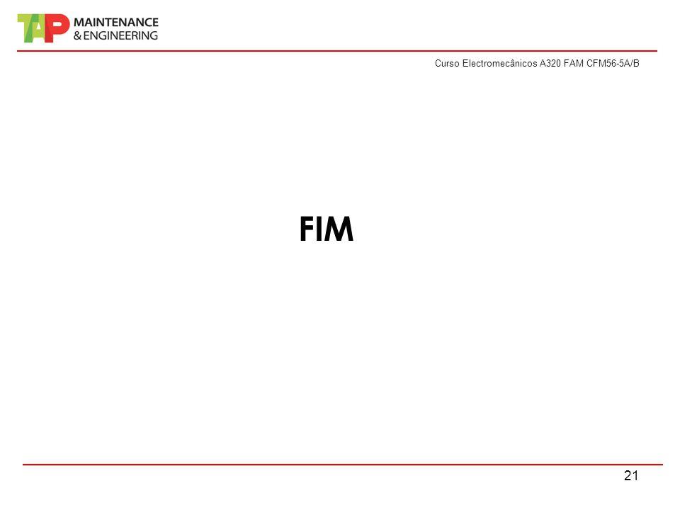 Curso Electromecânicos A320 FAM CFM56-5A/B 21 FIM