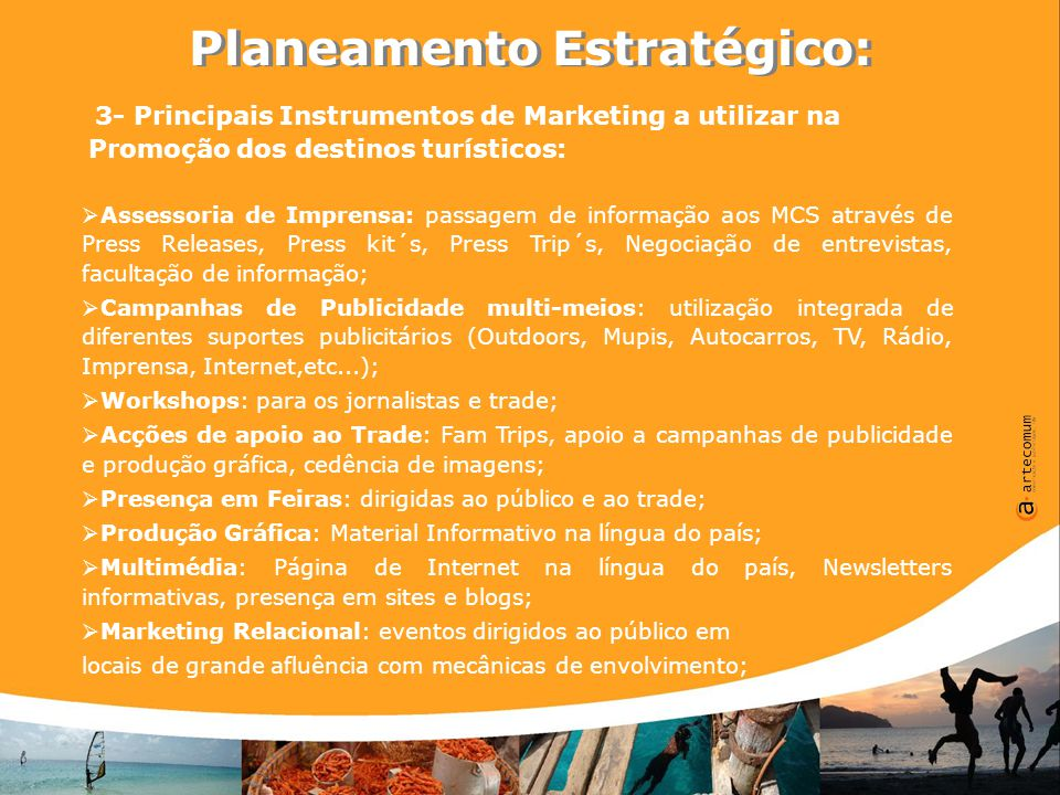 A Especificidade de Cabo Verde: 1 País, 10 Ilhas, 10 Destinos, 1 Marca A Especificidade de Cabo Verde: 1 País, 10 Ilhas, 10 Destinos, 1 Marca 1- A importância de serem definidos os aspectos da oferta turística de cada uma das ilhas:  Cada ilha de Cabo Verde tem uma identidade própria que deve ser definida por forma a ser possível formatar os principais atributos turísticos de cada uma;  Deste modo poder-se-ão definir os produtos turísticos de referência de cada ilha e criar uma estratégia individual dentro de um quadro do conjunto das 10 ilhas;  Com estas premissas a oferta turística, característica de cada ilha poderá ser melhor direccionada dentro de cada mercado emissor para os segmentos de mercado que mais se identifiquem com os seus atributos;  O destino torna-se mais atractivo a partir do momento em que apesar de ser um só país, é composto por atractivos turísticos distintos entre si, gerando o interesse de diferentes segmentos de mercado, alargando deste modo o número potencial de turistas que visitam Cabo Verde;