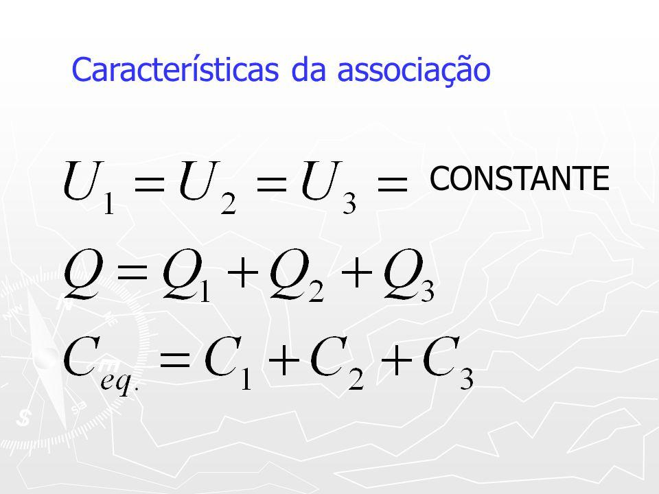 Características da associação CONSTANTE