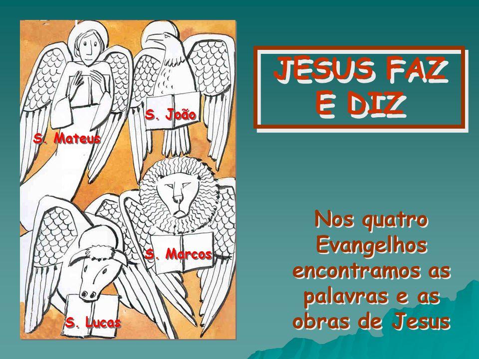 Tudo o que vimos que Jesus fazia é o que devemos tentar fazer nós...