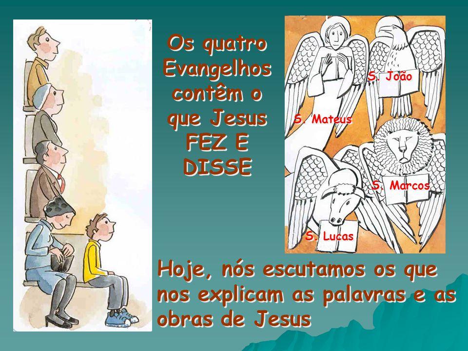 Jesus está sempre connosco e ensina-nos a amar