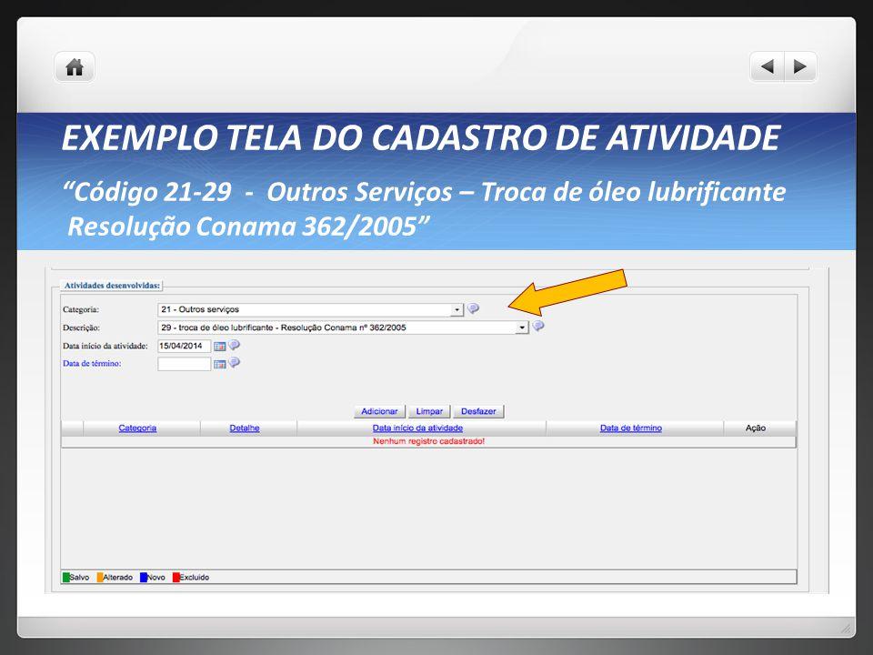 SERVIÇOS: COMO SE CADASTRAR? Acesse o Cadastro Técnico Federal no link: http://www.ibama.gov.br/areas-tematicas-qa/cadastro-tecnico-federal Pessoas ju