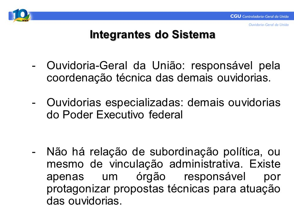 MARCIO CAMARGO CUNHA FILHO Analista de Finanças e Controle PRESIDÊNCIA DA REPÚBLICA Controladoria-Geral da União Ouvidoria-Geral da União Setor de Autarquias Sul Quadra 01, Bloco A, 9° andar sala 904 Edifício Darcy Ribeiro CEP 70070-905 - Brasília-DF Fone: (61) 2020-7259/ 6782 Fax: (61) 2020-7249 http://www.cgu.gov.br/Ouvidoria/